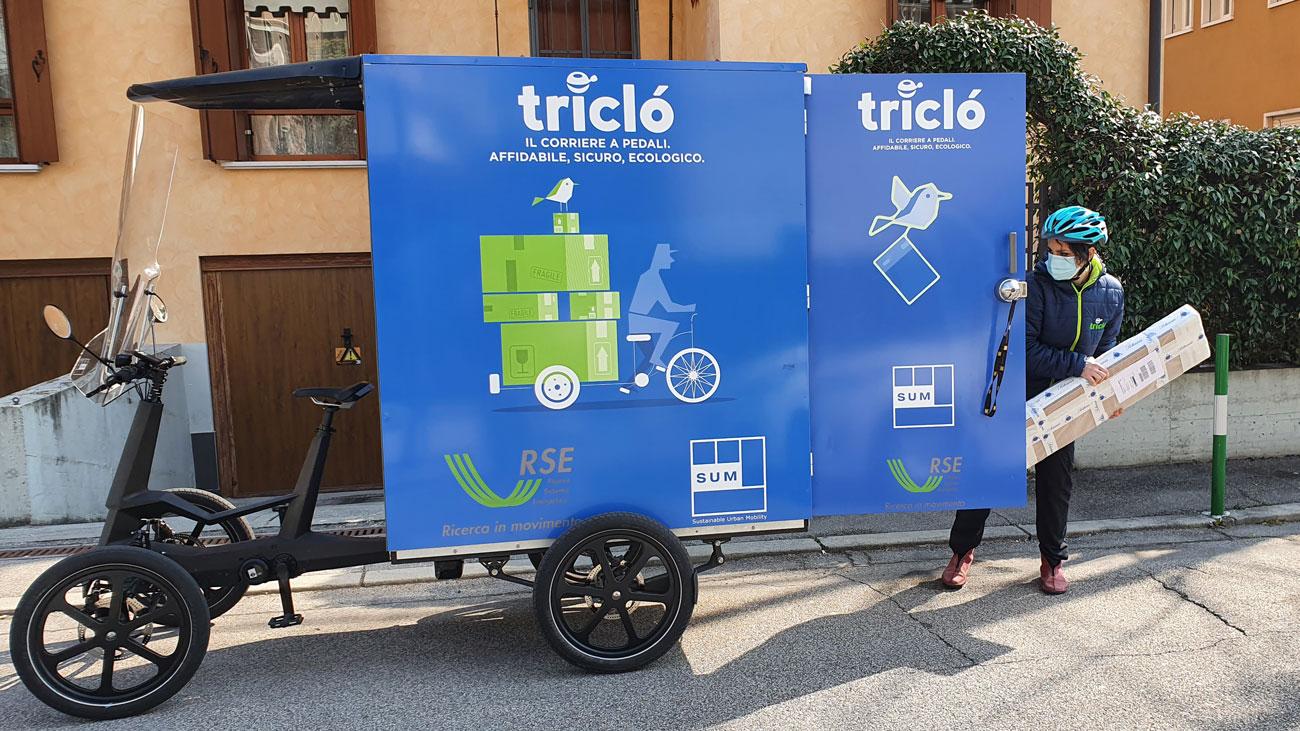 cargo bike SUM logistics