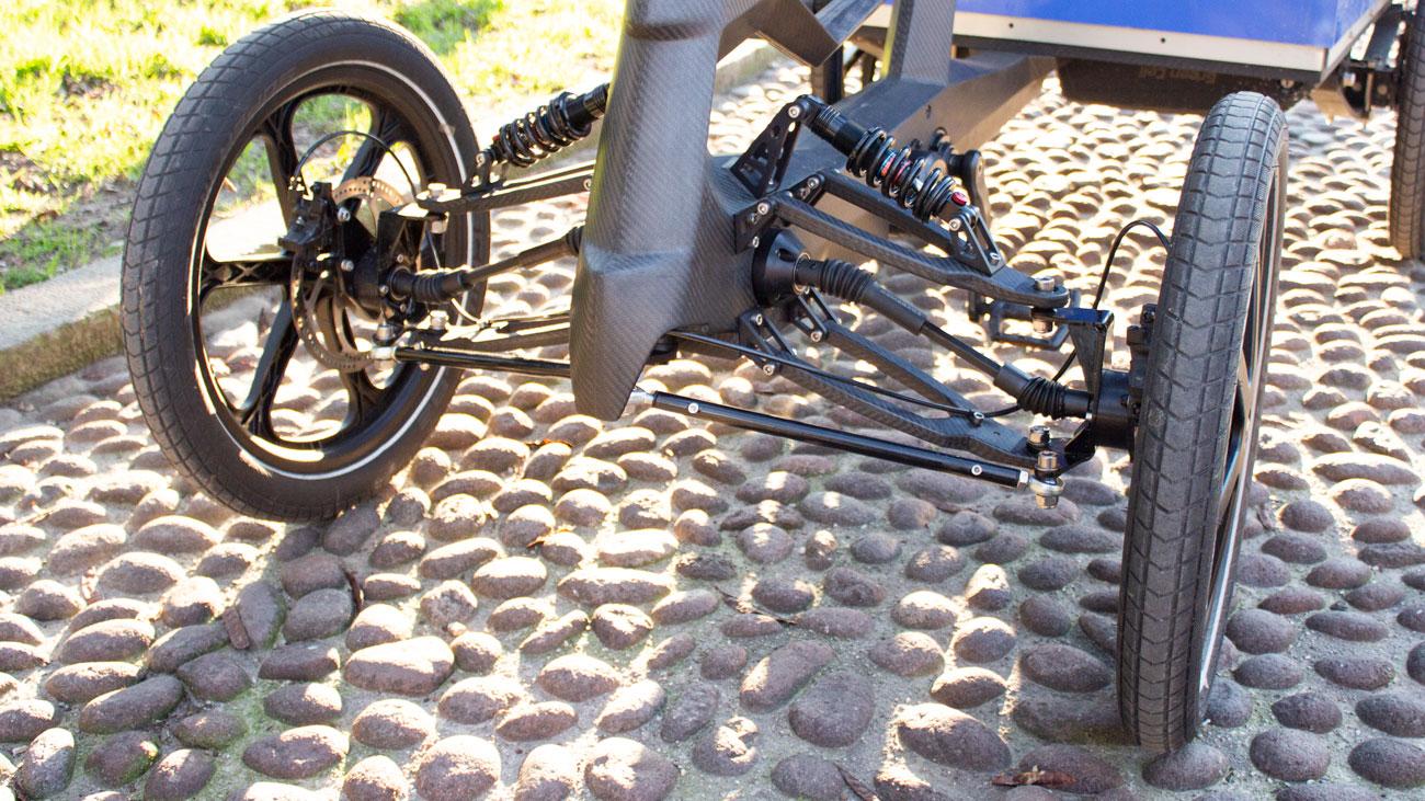 detail cargo bike SUM